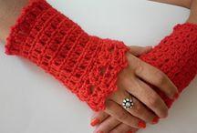 Crochet - Wrist warmers / by Lisa-Marie