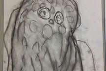 Hiilityö pöllö
