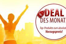 DEAL OF THE MONTH / Gewinnspiele, Rabattaktionen, u.v.m.
