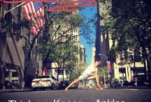 Yoga / Yoga in the city.  Benefits. Muscles strength.