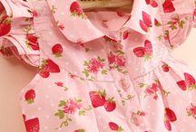 Tops girls / Tops voor girls. Mouwloos,halter,spaghettibandjes,korte mouw ,lange mouw,vlindermouw,3/4 mouw, kapmouw,raglan mouw....lovely tops for lovely girls...