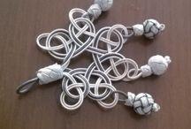 Gümüş kazas kolye