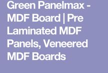 Green Panelmax Plain MDF