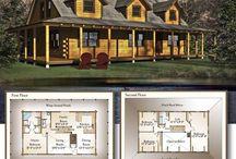 Real Log Standard Floor Plans