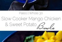 Slow Cooker Sweet Potato Recipes / Quick and easy slow cooker recipes featuring sweet potatoes! Slow cooker sweet potato casserole, soups and more.