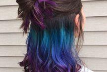 farebné vlsy