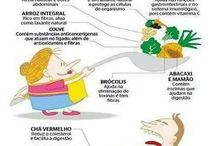 Comidas e bebidas saudáveis / Não precisamos perder o prazer de comer, há muitas maneiras de ter comidas e bebidas gostosas e sudáveis. / by Cássia Medeiros