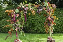 ARCHES / Floral arch inspiration. This board is a mixture of our designs and other floral designers.