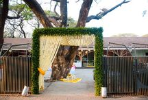 Wedding entrance
