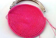 Porta moedas de crochet