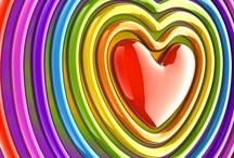 Color me a Rainbow / by Glenda Mason