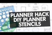 Planner Hacks + DIY