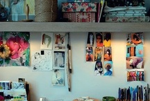 Work Space / by Zanne Blair
