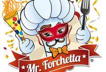 Versioni del logo / Mister Forchetta è sempre pronto per ogni occasione!