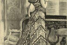 Fashion plates: 1890s