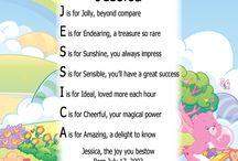 Personalized Name Poem  / Celebrate your child or anyone with their very own Personalized Name Poem. The letters of your child's name are used to create a poem as unique and special as your child!