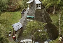 Homes we Love / Inspirational buildings - eco-houses - cosy homes