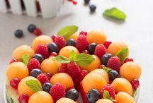frutta decorata