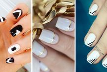 White Nailart / Uñas blancas