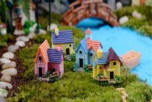 Garden doll house