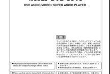 Denon DVD Service Manuals