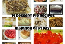 Pi Day Recipes / Pi Day #pie #recipes / by Karen Puleski