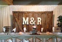 Snow Valley Wedding Ideas / Rustic Wedding Decor
