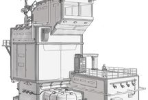 futuristic concept buuldings