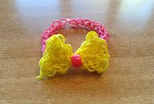 Rainbow loom ideas / by Vanessa Calas Menendez