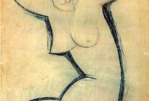 Paintings.Modigliani