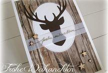 Basteln Weihnachtskarten 3