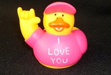 Rubber Duck Dynasty / If you like Rubber Ducks, check out our #ADuckADay Board.  Most of them can be seen on eBay at HerbsCraftsGifts.com. Friend me on Facebook @ Louise C Sanchez