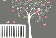 Baby girls room ideas / by Melissa Bonello