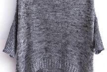 Pullover, gestrickt