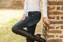 Jeans & Blouse & Colbert