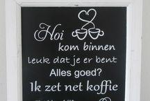 Hollandse koffie Winkel. Het snoep fee*