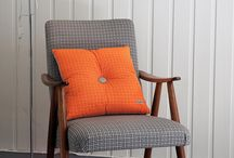 Restored vintage armchair