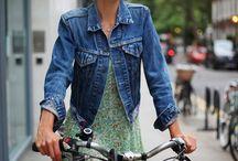 Chic pe bicicleta