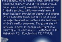 the great day of Jehovah is near!
