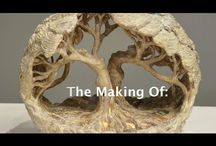 hliněný strom