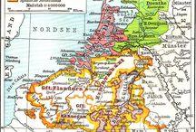 Nederlandse topografische kaarten