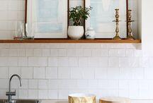 Kitchen tiles/splash backs