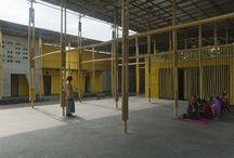 bamboo pavillion