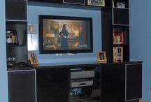Home Theater Systems / Custom home theater & entertainment systems built for your specific space with storage and functionality in mind.