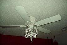 Ceiling Fan Chandelier for Small Apartment Renovations