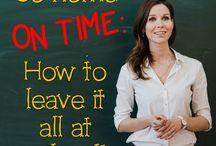 Advice for Teachers