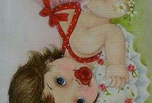 dibujos cobijas bebe