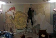 výzdoba interiéru / práce atelieru virag-čvorović