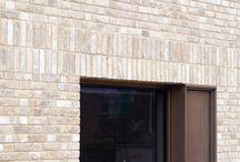 brickfacade / tiny brick-covered houses