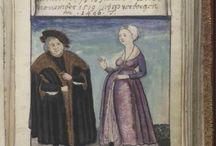 Kostýmy Trachtenbuch des Matthaus Schwarz aus Augsburg,1520 - 1560